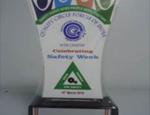 """Silver Award"""" in Safety Skit Competition organised-Quality Circle Forum of India, Pune"""